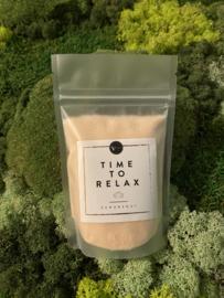 Scrubzout 'Time to relax'