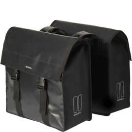 Basil dubbele tas Urban load zwart