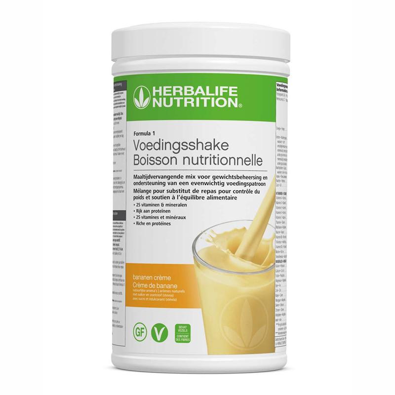 Formula 1 Voedingsshake Bananen Crème 550 g