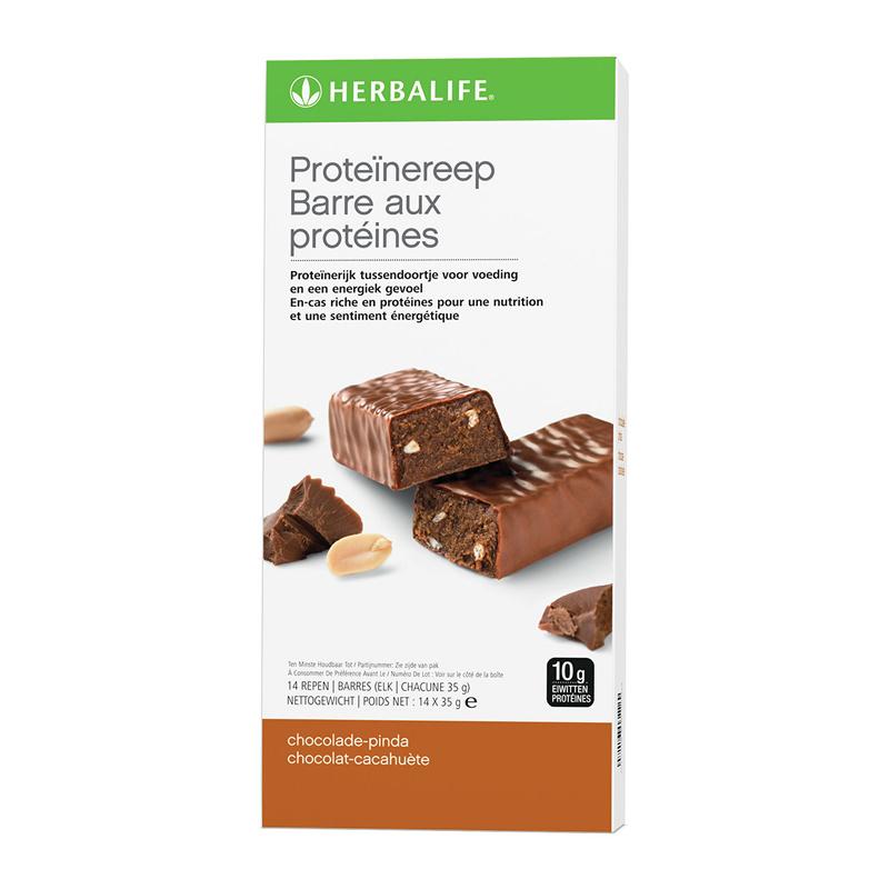 Proteïnereep chocolade pinda (14 repen)