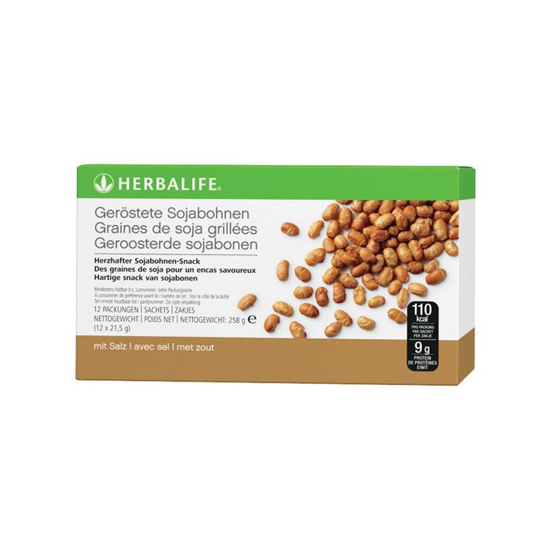Geroosterde sojabonen (12 zakjes - 21,5 gr / stuk)