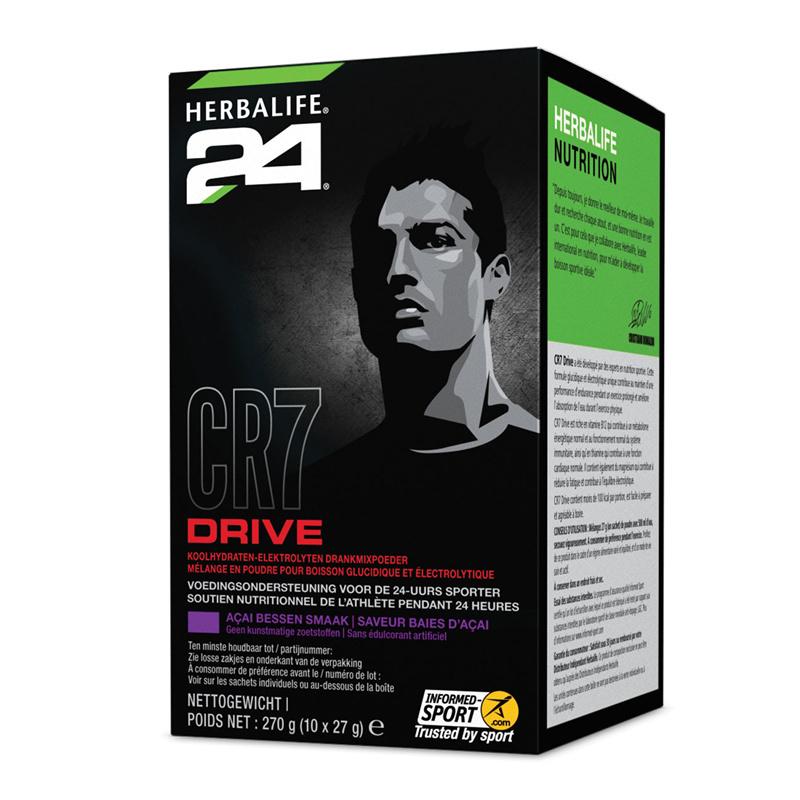 CR7 Drive Zakjes açai bessen smaak 270 g