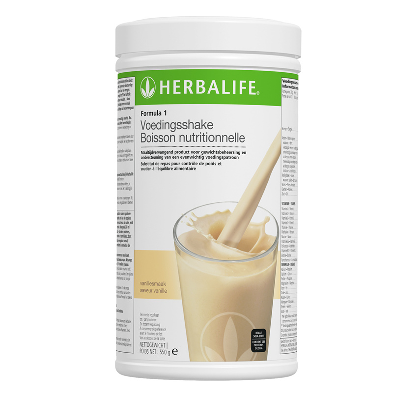 Formula 1 maaltijdvervangende shake vanille 550 g