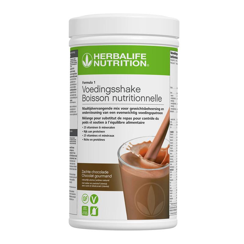 Formula 1 maaltijdvervangende shake zachte chocolade 550 g