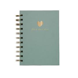 Gift | Notitieboekje Blah Blah Blah kidsquotes groen | A6