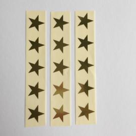 Sticker mini ster | goud | 30 stuks