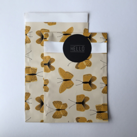Zakjes | Butterfly Yellow | 10 stuks