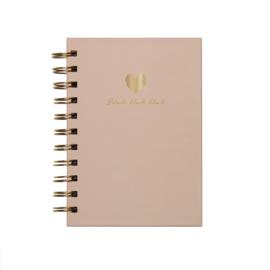 Gift | Notitieboekje Blah Blah Blah kidsquotes roze | A6