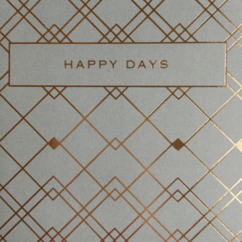 Kaart A5 | happy days | per stuk