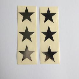 Sticker ster | zilver | 30 stuks